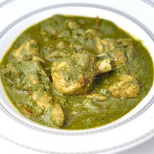 39. Chicken Palak