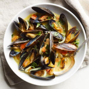 08. Curried Mussels