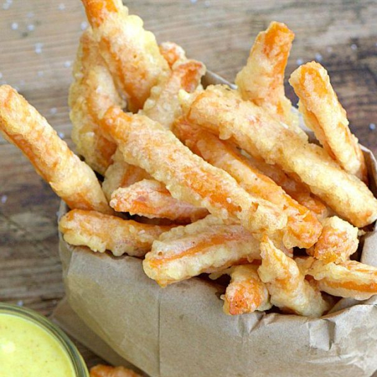 Yam Tempura Fries