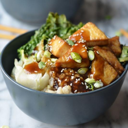 Tofu Donburi
