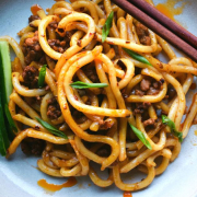 Noodles with Spicy Minced Pork