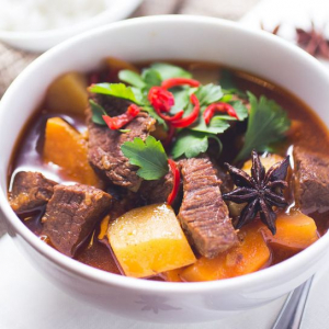 Spicy Stewed Beef with Potatoes