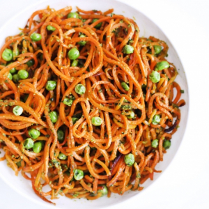 Spicy and Sour Sweet Potato Noodles