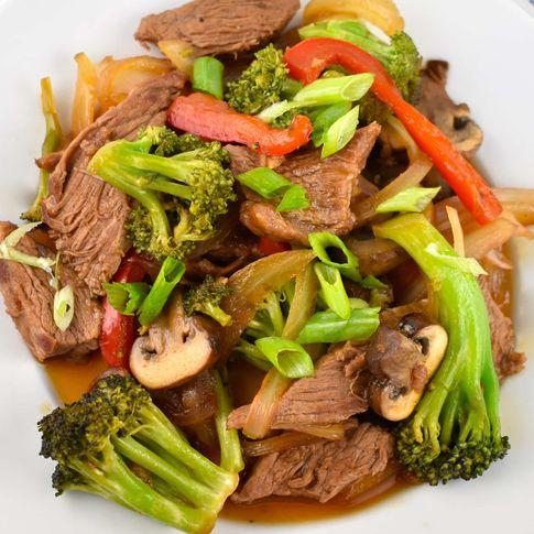 Stir-Fried Beef