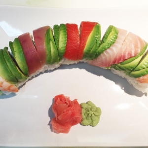 Old-Fashion Rainbow Roll