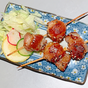 Bacon Scallop Skewer