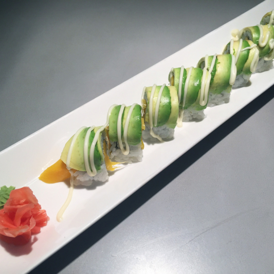 Mango Avocado Roll