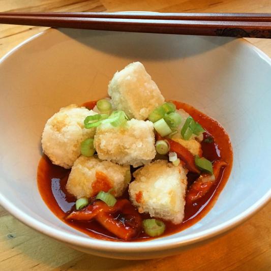 Spicy Adgedashi Tofu