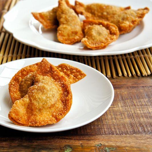 Deep Fried Dumpling Vegan (6 pcs)
