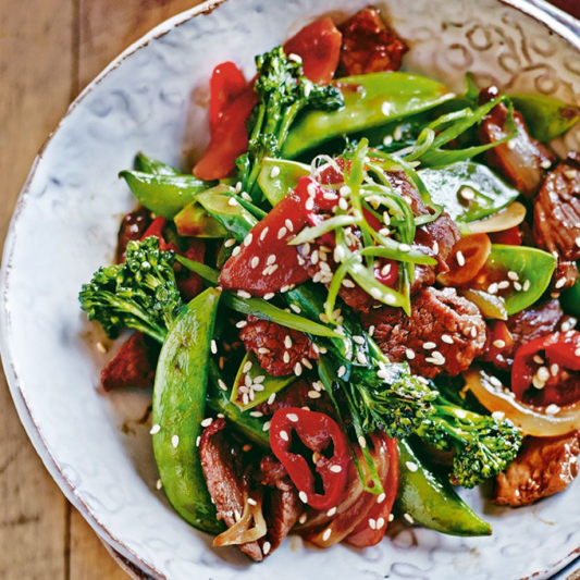 Stir-Fry Meat and Vegetables