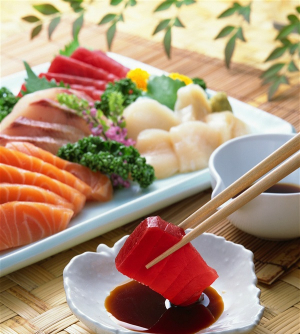 Deluxe Sushi & Sashimi Combo