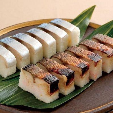 Saba Aburi Oshi Sushi