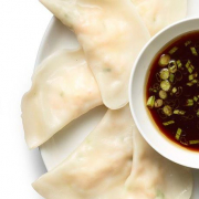 A6. Steamed Dumplings (12 pcs)