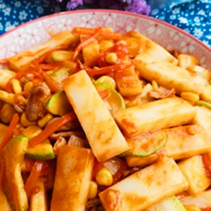 V4. Stir-Fried Spicy Mix Vegetable
