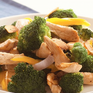 J8. Chicken with Broccoli