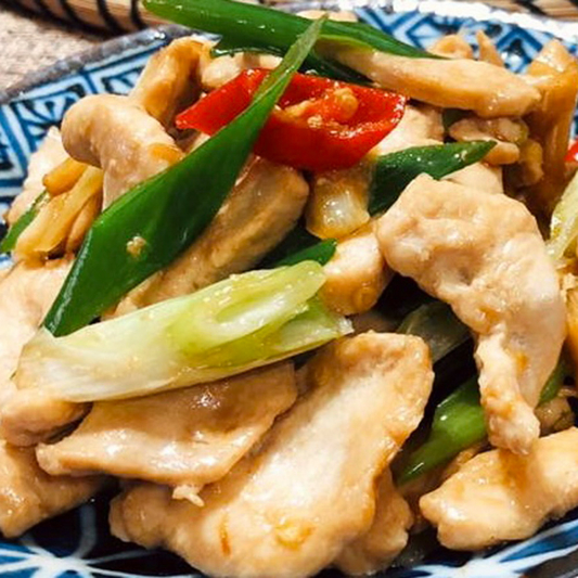 J12. Chicken with Mix Vegetables