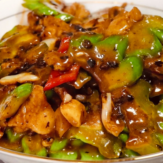 B4. Beef with Black Bean Sauce