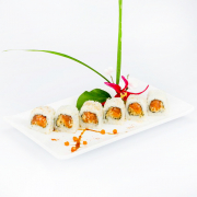 R6. Spicy Salmon Roll (6 pcs)