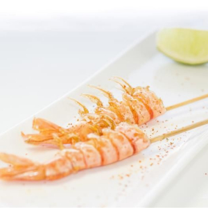 T17. Shrimp Skewer (6 pcs)