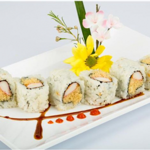 R9. Spicy Crab Meat Roll (6 pcs)
