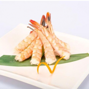 B27. Shrimp Sashimi (3 pcs)