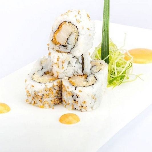 R8. Spicy White Tuna Roll (6 pcs)
