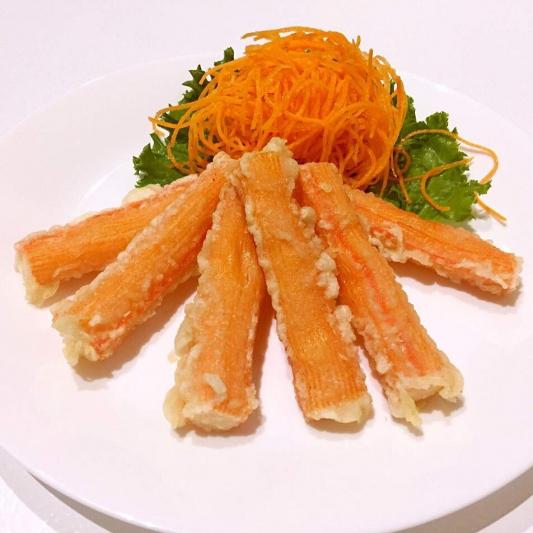 T8. Crabmeat Tempura (8 pcs)
