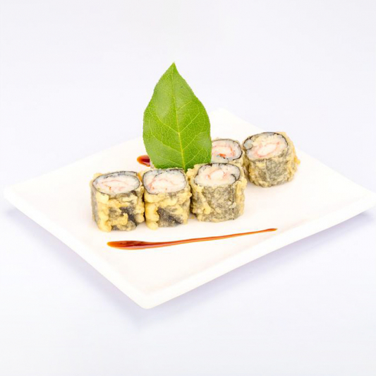 R5. Deep-Fried Crab Meat Roll (6 pcs)