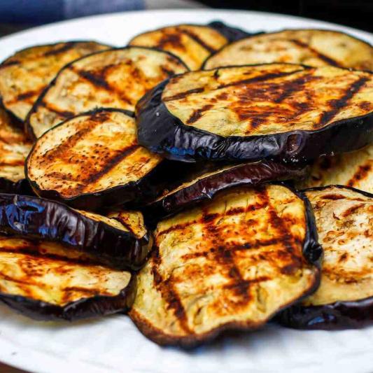 A15. BBQ Eggplant