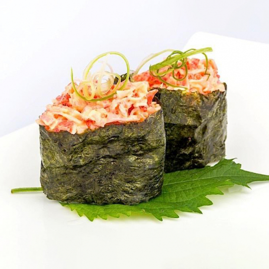 B13. Spicy Crab Meat Sushi (2 pcs)