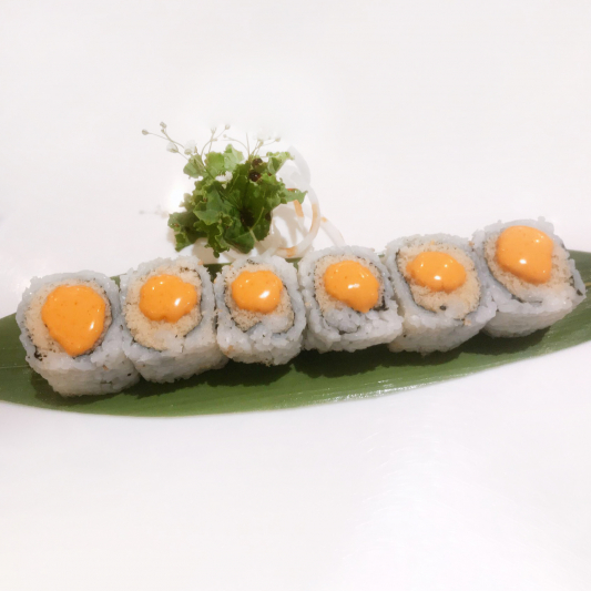 V6. Spicy Crispy Roll (6 pcs)