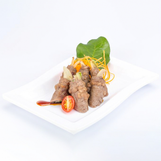 T13. Green Onion Beef Roll (6 pcs)