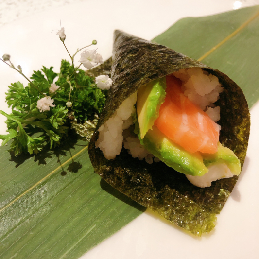 H13. Philadelphia Hand Roll (1 pc)