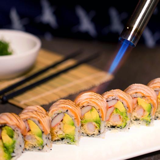 D9. Crazy Salmon Roll