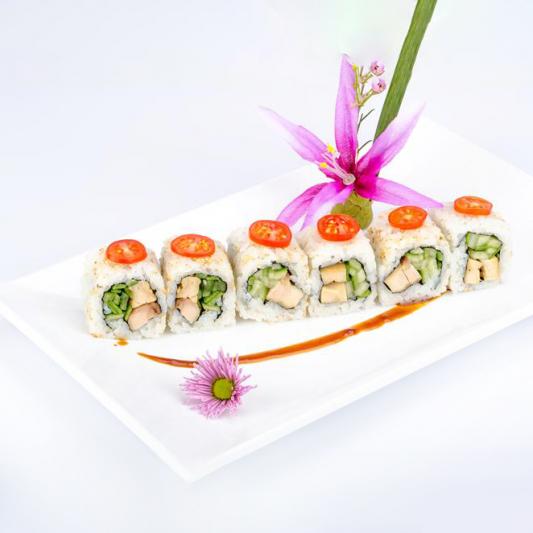 R10. Chicken Teriyaki Roll (6 pcs)