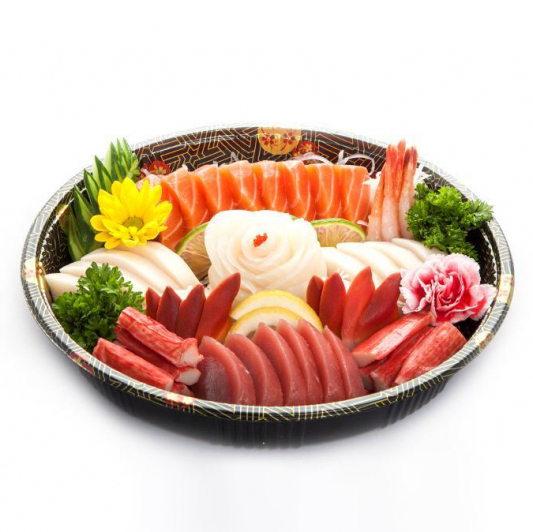 P4. Sashimi Party Tray (49 pcs)