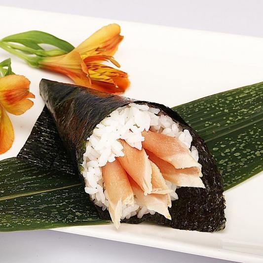 H15. White Tuna Hand Roll (1 pc)