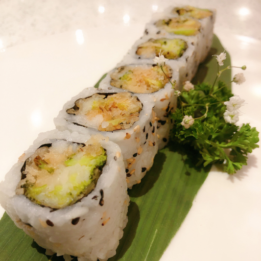 V7. Spicy Broccoli Roll (6 pcs)