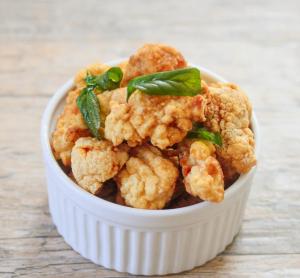 137. Peppery Salt Chicken Wings