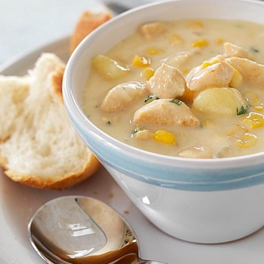 170. Cream Corn and Chicken Soup