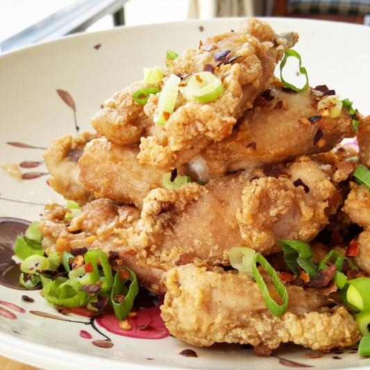 Peppery Salt Chicken Wing