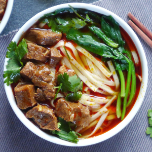 25. Beef House Noodle Soup