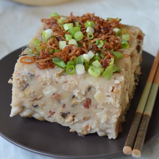 47. Spicy Taro Cake