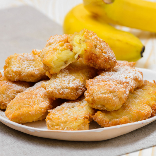 Deep-Fried Banana