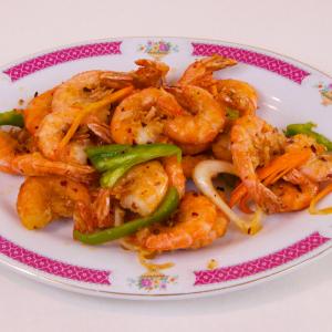 26b. Sauteed Deep-Fried Shrimp