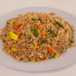 77. Mixed Vegetables Fried Rice