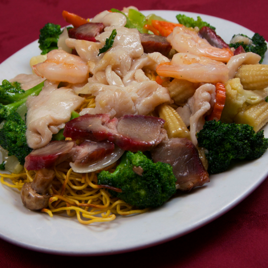64a. Castle's Special Chow Mein
