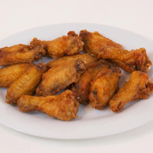 10. Deep-Fried Chicken Wings