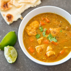 Mulligatawny with Chicken Soup