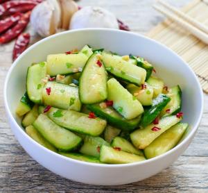A5. Sichuan Cucumbers